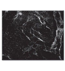 15 x 12 inch Tempered Glass Cutting Board - Marble Image