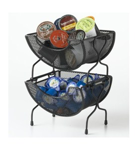 Small Kitchen Wire Stacking Baskets Image