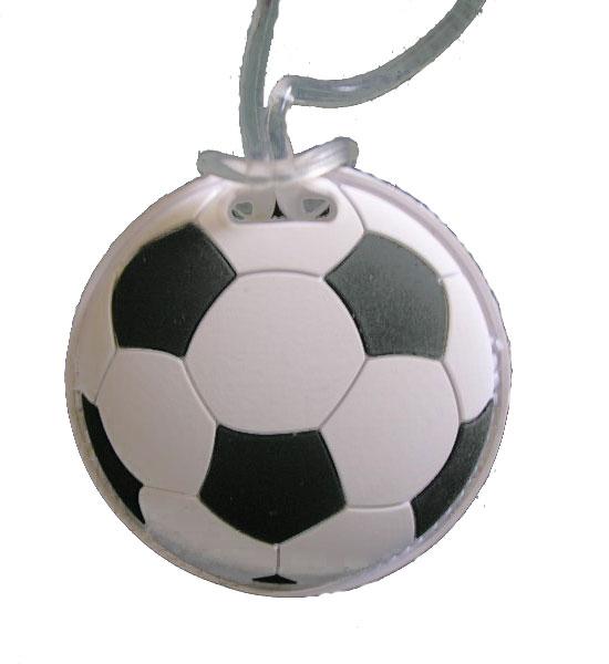Soccer Ball Bag Tag Image