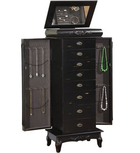 8 Drawer Jewelry Armoire - Morris Image