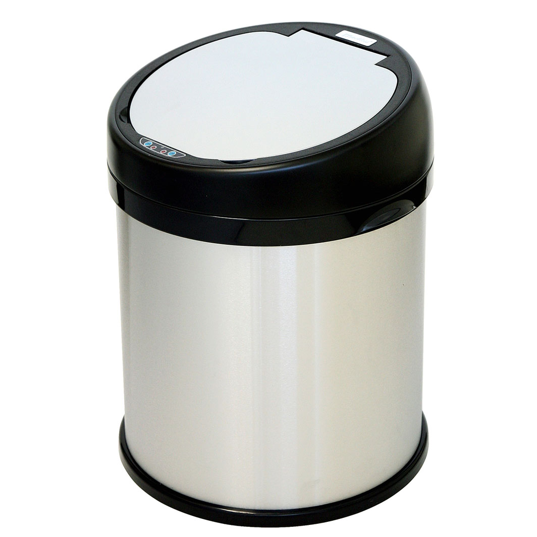 8 gallon sensor touchless trash can by itouchless in small trash cans. Black Bedroom Furniture Sets. Home Design Ideas