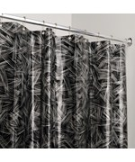 EVA Vinyl Shower Curtain - Crosshatch