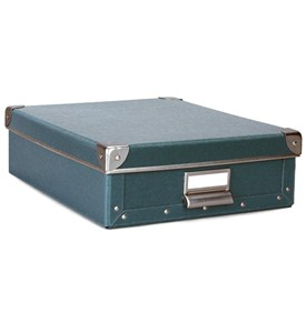 Cargo Stationery Box - Bluestone Image
