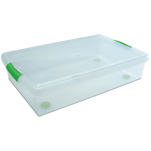 Stor N Slide Under Bed Container In Plastic Storage Boxes