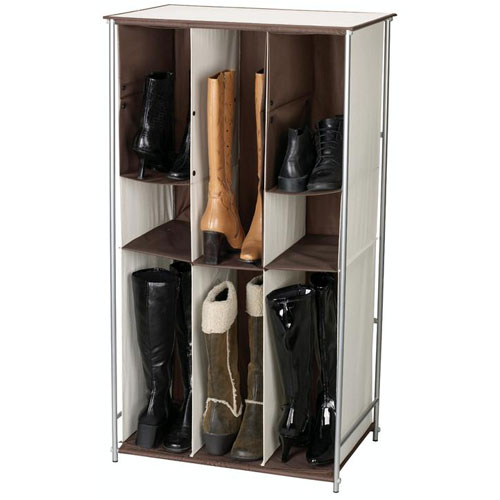 Transformer adjustable boot and shoe rack in shoe racks for Household essentials whitney design