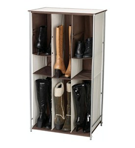 Transformer Adjustable Boot and Shoe Rack Image