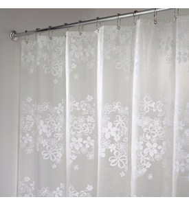 EVA Vinyl Shower Curtain - Fiore Image