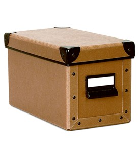 Cargo CD Box - Nutmeg Image