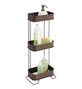 Three tier bath caddy bronze in shower caddies - Etagere douche italienne ...