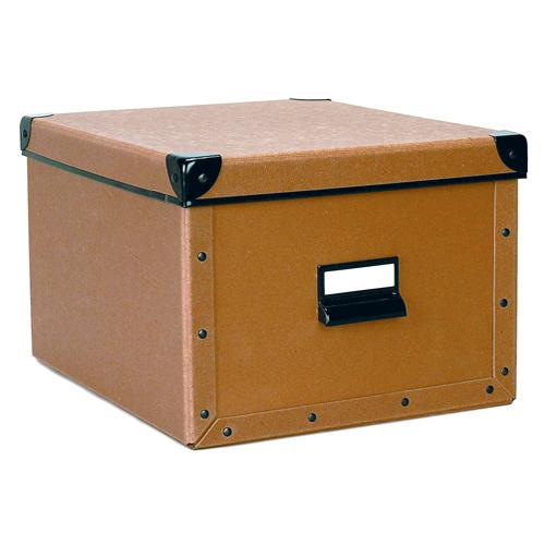 cargo shelf box nutmeg in file storage boxes. Black Bedroom Furniture Sets. Home Design Ideas