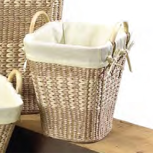 Small Woven Waste Basket In Small Trash Cans