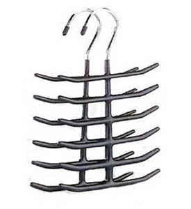 Chrome Tie and Belt Hangers (Set of 2) Image