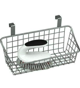 Over The Cabinet Wire Basket - Nickel Image