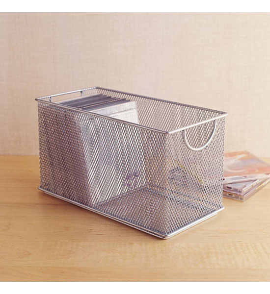 cargo atheneum dvd storage box black mesh cd box