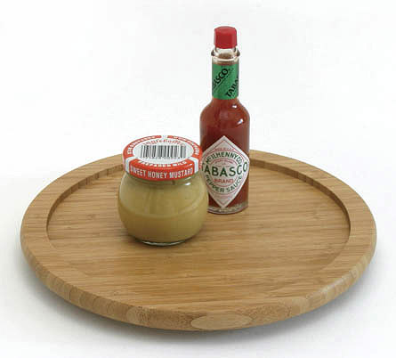 Lazy Susan Turntable   10 Inch   Bamboo ...