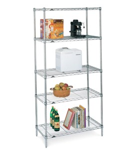 InterMetro Five Shelf Rack Image