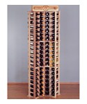 84 Bottle Redwood Corner Wine Rack