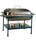 Stainless Steel Chafing Dish - Antique Copper