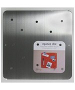Silver Stainless Steel Magnetic Bulletin Board