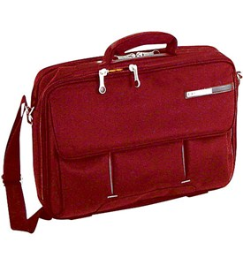 Magno 16 Inch Laptop Briefcase - Red Image