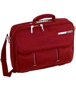 Magno 16 Inch Laptop Briefcase - Red