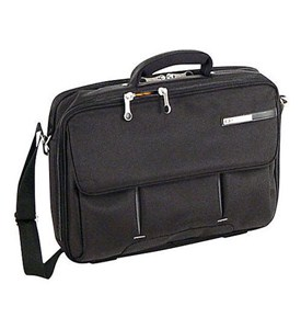 Magno 16 Inch Laptop Briefcase - Black Image