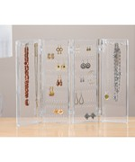 Acrylic Folding Earring and Necklace Holder