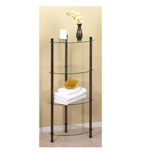4 Tier Corner Shelving Table Image