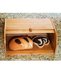 Roll Top Bread Box - Bamboo