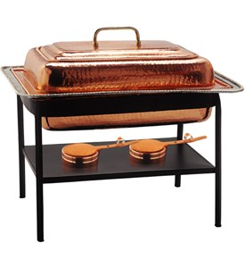 Stainless Steel Chafing Dish - Decor Copper Image