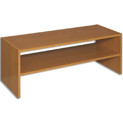 Wood Laminate Horizontal Storage Shelves   Alder Image