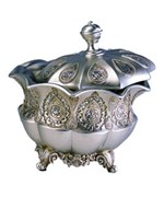 Traditional Royal Silver Jewelry Box