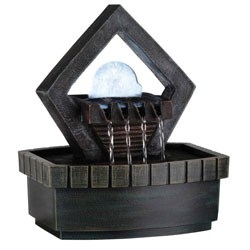 9.5 Inch Meditation Fountain With Led Light by O.R.E. Image