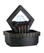 9.5 Inch Meditation Fountain With Led Light by O.R.E.