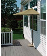 9 Ft. OFF-THE-WALL BRELLA with Olefin Fabric by Blue Star Group