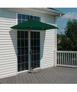 9 Ft. OFF-THE-WALL BRELLA with SolarVista Fabric by Blue Star Group