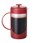 Bonjour Unbreakable French Press - Red