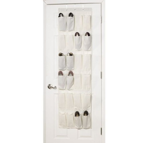Over the door shoe organizer in over the door shoe racks for Door shoe organizer