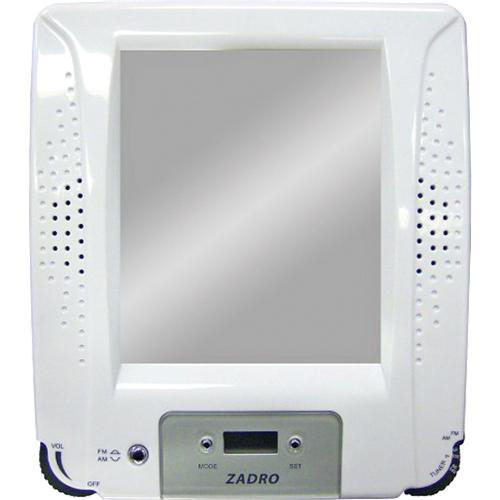 Shower Radio With Clock And Fogless Mirror In Shower Mirrors