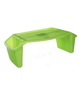Childrens Lap Tray - Lime Sparkle Image