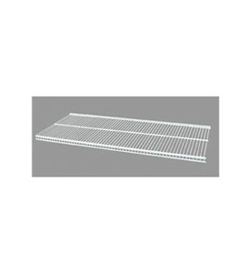 16 Inch freedomRail Ventilated Shelf - White Image