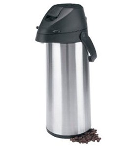 12 Hour Coffee Carafe - Stainless Steel Image