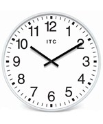Infinity Instruments White Office Clock