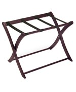 Folding Luggage Rack - Espresso
