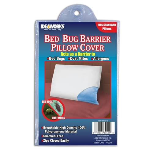 Bed Bug Pillow Covers in Bed Pillows