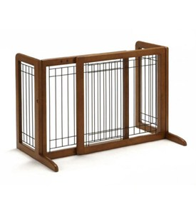 Richell Freestanding Pet Gate - Small Image
