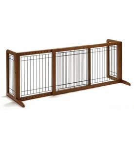 Richell Freestanding Pet Gate - Large Image
