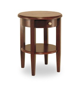 Concord End Table - Antique Walnut Image