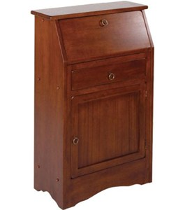 Regalia Secretary Desk - Antique Walnut Image