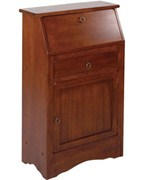 Regalia Secretary Desk - Antique Walnut